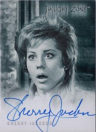 Twilight Zone: Sherry Jackson [Autograph]