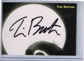 Nightmare Before Christmas: Tim Burton [Autograph]